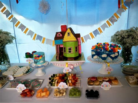 disney up themed birthday party pixar up theme 2nd birthday party and gender reveal
