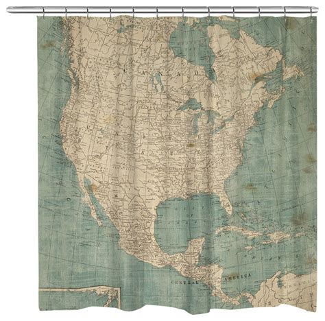 usa map shower curtain north america map shower curtain traditional shower