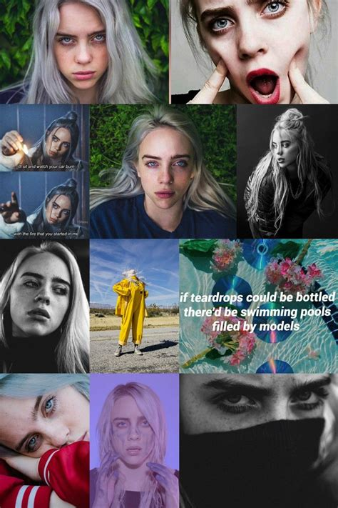 billie eilish teardrops pin by nowaczka n on billie eilish pinterest beautiful