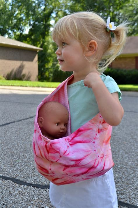 Handmade Baby Sling - handmade martini tutorial and free pattern pouch style