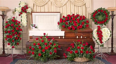 image gallery home funeral flowers