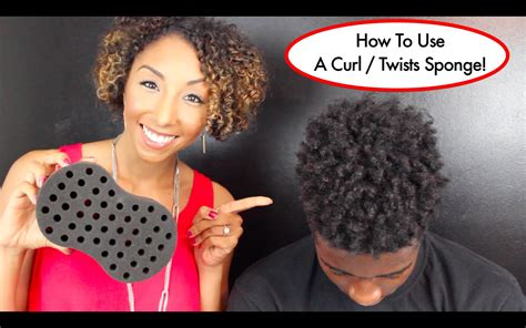 can you twist man hair with a regular sponge how to use a curl twists sponge tutorial for long