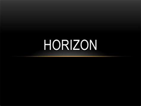 horizon powerpoint themes horizon office templates
