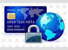 Secure online payment concept with credit card, padlock ... Free Holiday Clipart And Borders