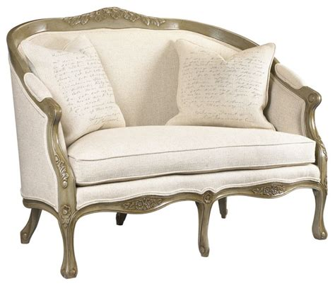 console loveseat camille loveseat traditional loveseats atlanta by