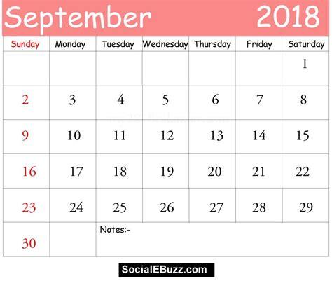 september 2018 calendar september 2018 calendar printable template with holidays