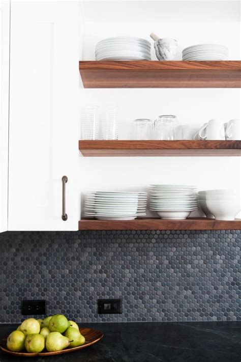 penny kitchen backsplash 30 penny tile designs that look like a million bucks
