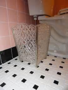 Pinwheel Bathroom Floor Tile janice adds a 1950s pink bathroom to her mid century house