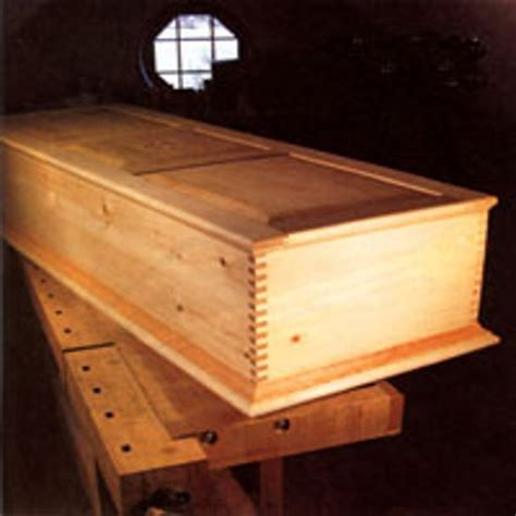 Handmade Wooden Coffins - learn how to build a handmade casket earth news