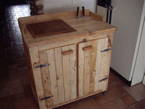 meuble de cuisine en palette meuble cuisine palette bricolage maison et d 233 coration