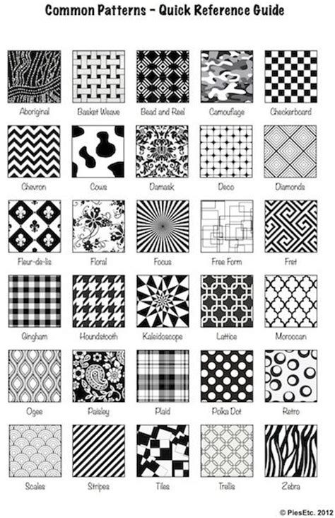 html pattern list art lesson eye candy optical art