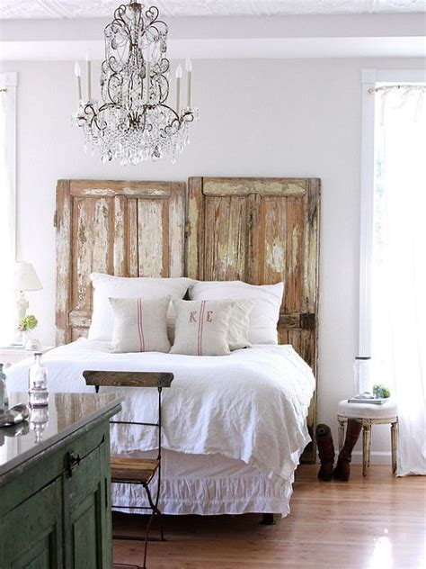 diy old door headboard 25 diy headboard ideas freshnist