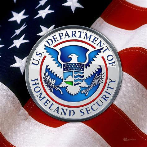 department of homeland security d h s emblem
