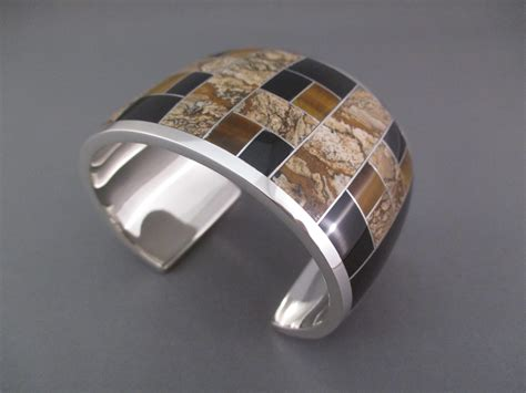how to make inlay jewelry multi inlay cuff bracelet american inlay