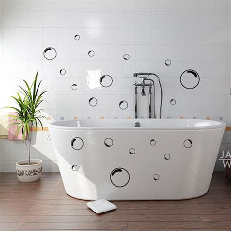 bathroom glass stickers 21pcs funny bubbles bathroom shower mirror screen door