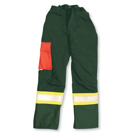 Forest Green Hex 3600 threshold fr chainsaw pant direct workwear