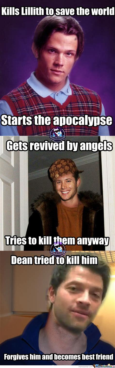 Supernatural Funny Memes - supernatural meme by cattivo meme center