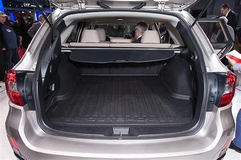 subaru outback trunk dimensions 2015 subaru outback a lot more cargo friendly just car