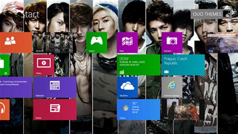 theme kpop windows 8 super junior theme for windows 7 and 8 ouo themes