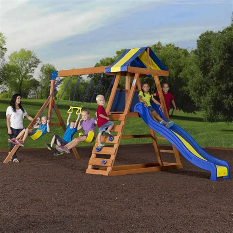 top 5 wooden swing sets 500 dollars