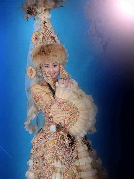 costume  kazakhstan kazakhstan national costume traditional dresses folk costume world