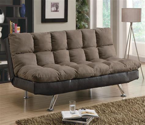 microfiber contemporary sofa sofa beds and futons contemporary brown microfiber dark