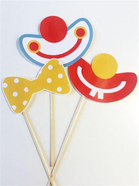 Decor Cirque A Imprimer by Accessoires Clown Momes Net