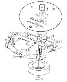 Dodge Ram Spare Parts Wheel Spare Underslung Mounting