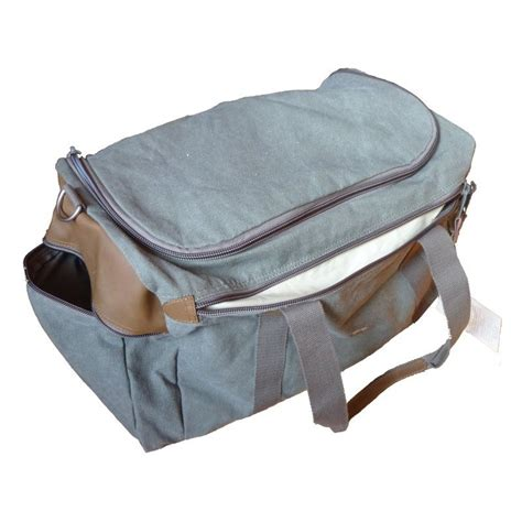 Cotton Box Half Binder bag travel luggage ecological