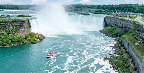 niagara falls canada attractions boat tour discover hornblower niagara cruises canada s only