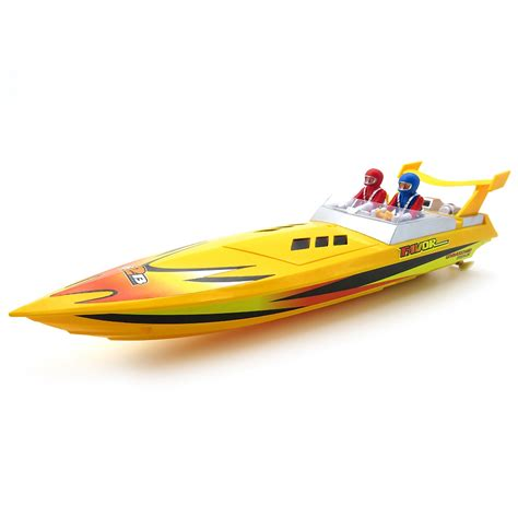 rc boats rtr flytec hq5011 27mhz rc boat rtr yellow