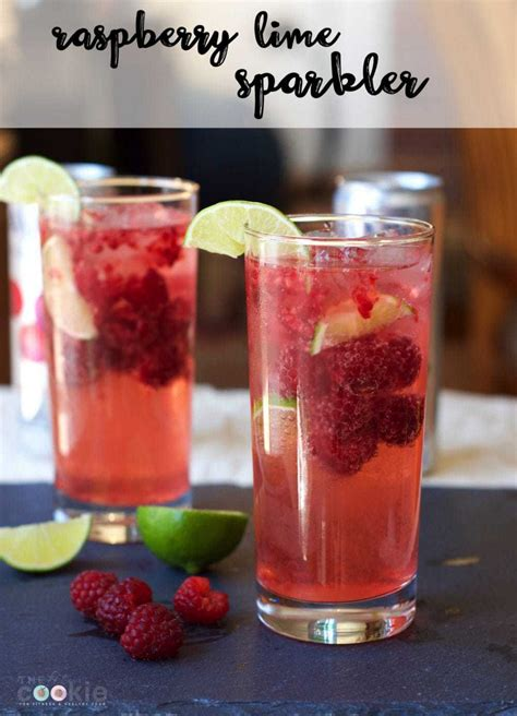 sparkling raspberry limeade mocktail low carb yum raspberry lime sparkling water mocktail low carb the fit cookie