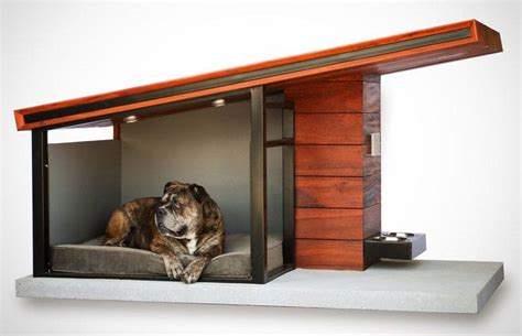 how to make dog house at home modern dog house from rah design boasts contemporary sophistication 6sqft