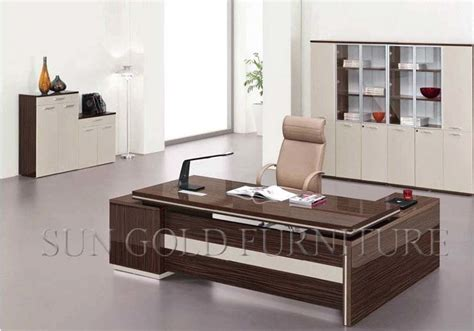 China Modern Melamine Office Furniture Manager Desk (SZ OD336)   China Manager Desk, Modern