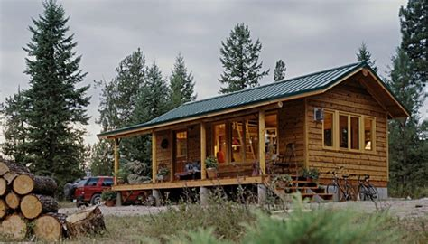 Small Home Builders In Montana Sherpa Cabins