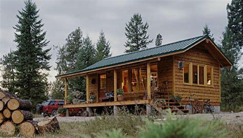 Small House Kits Montana Sherpa Cabins