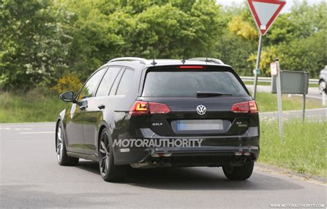 volkswagen golf wagon 2015 2015 volkswagen golf r wagon spy shots