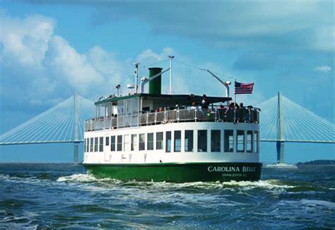 charleston boat tours fort sumter harbor tours boat tours charleston sc harbor cruises