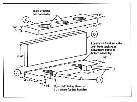 baseball bat bench plans woodworking bat rack plans plans pdf download free blanket