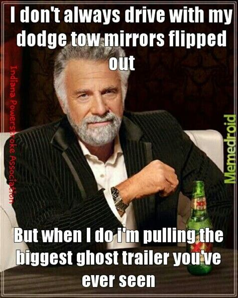 Dodge Tow Mirrors Meme - need tow mirrors that stick out 5 feet hehehe page 3