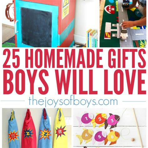 Handmade Gift Ideas For Boys - 25 gifts boys will gift ideas for boys