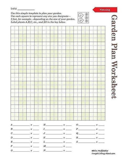 Galerry ultimate printable garden planner