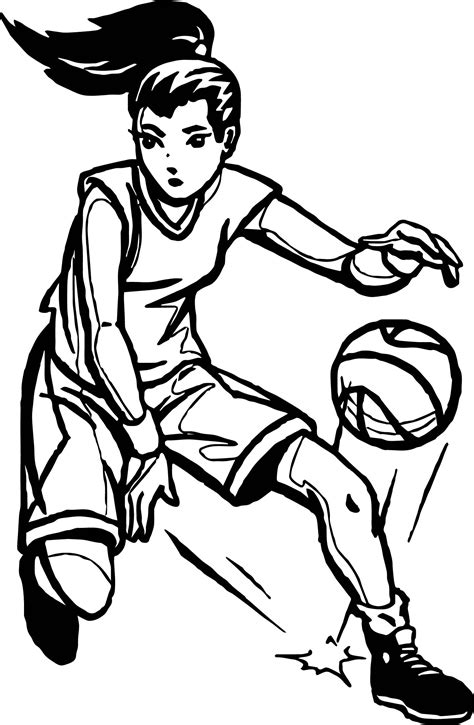 coloring pages of basketball players basketball player coloring pages coloring page pictures