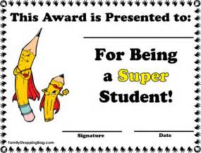 Free Award Certificate Templates For Students by Awards For Students On Student Awards