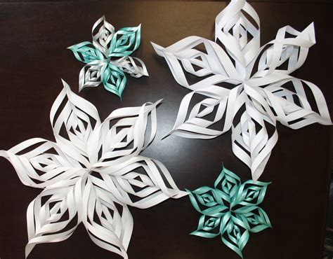 A Snowflake Out Of Paper - paper zone inspire design create 3d snowflake pattern