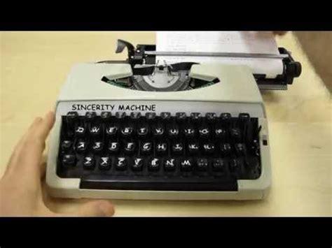 Typewriter Meme - sincerity machine the comic sans typewriter comic sans