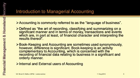 3 5 Accounting To Mba by Unit 1 3 Analysis Of Financial Statements Accounts And