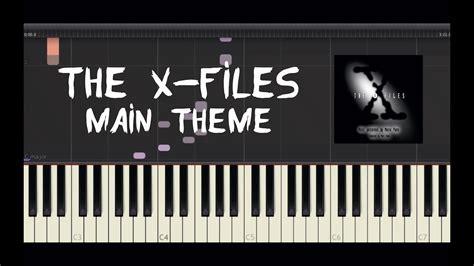 piano tutorial x files theme the x files main theme piano tutorial by amadeus