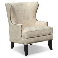 marseille accent chair and black american