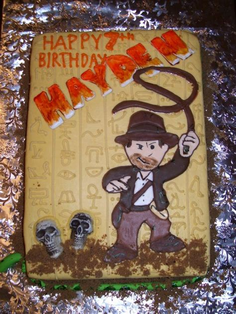 Produk Indiana Top Bordir 17 best images about cakes indiana jones on
